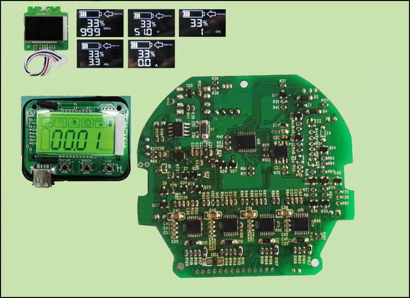Smart BMS with RS485,RS232,Can,SMbus ,I2C Communication