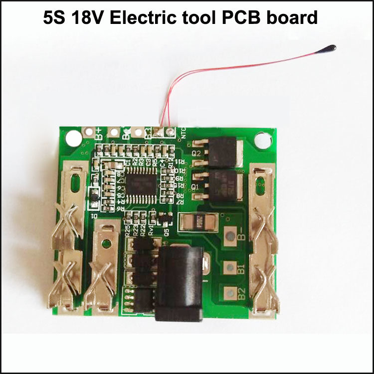 20a 5s 18v 18650 Li-ion Lithium Cell Battery BMS PCB Protection Board w//Balance