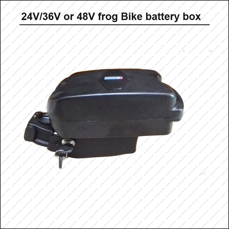 Electric Battery Storage Box Case E-bike Box Holder For 18650 36V//48V Battery