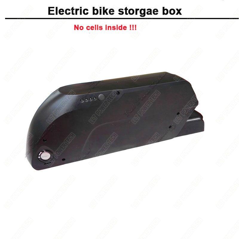 Downtube bike battery box
