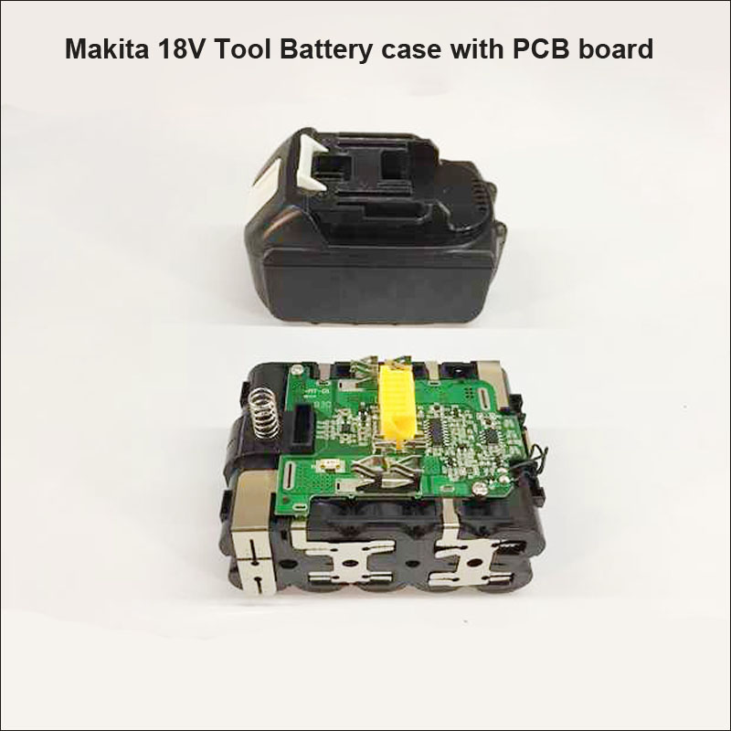 Makita 18V Lithium Ion tool battery PCB board for 18V series with plastic on