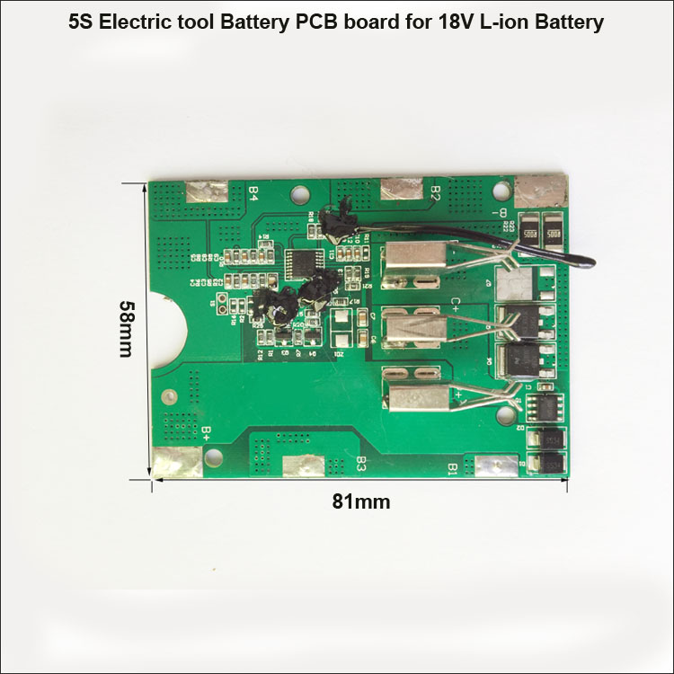Electric tool Lithium Battery PCB Board – LLT POWER ELECTRONIC