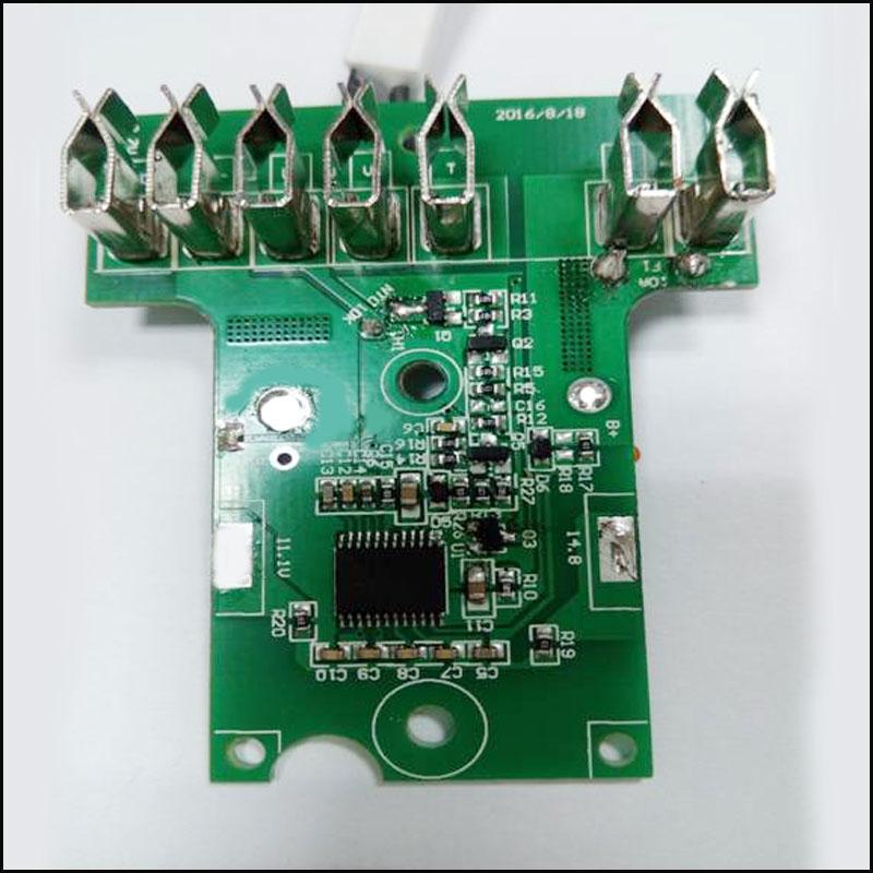 Hitachi 18V or 14.4V tool Battery PCB circuit board – LLT POWER ...