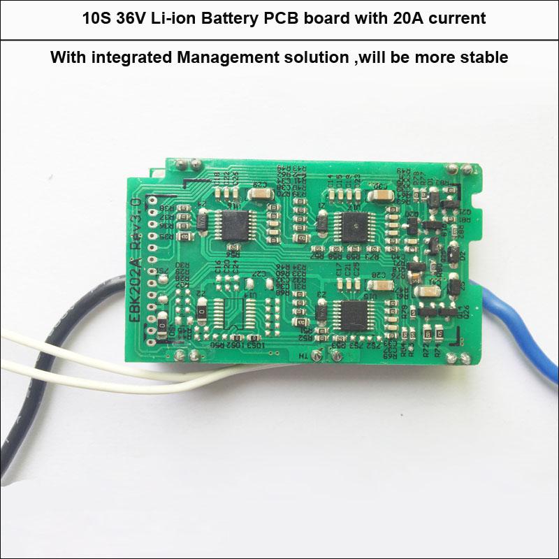 10S 20A E-bike battery PCB