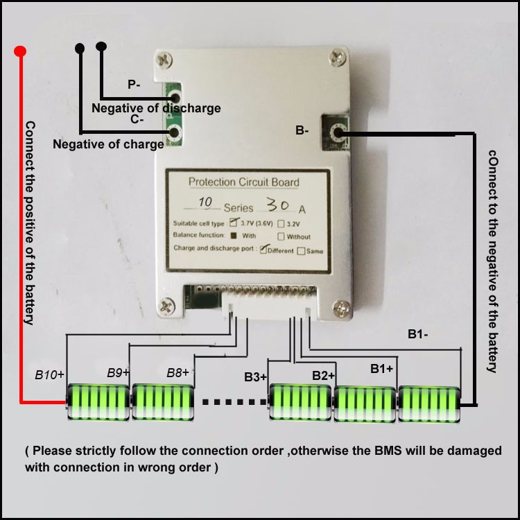 36v 10s battery wiring diagram