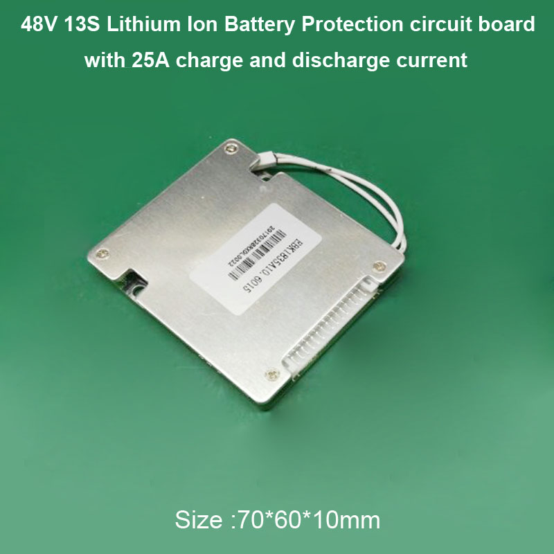 13S 25A lithium Battery PCB