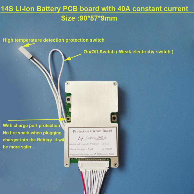 48V electric bike Battery PCB board