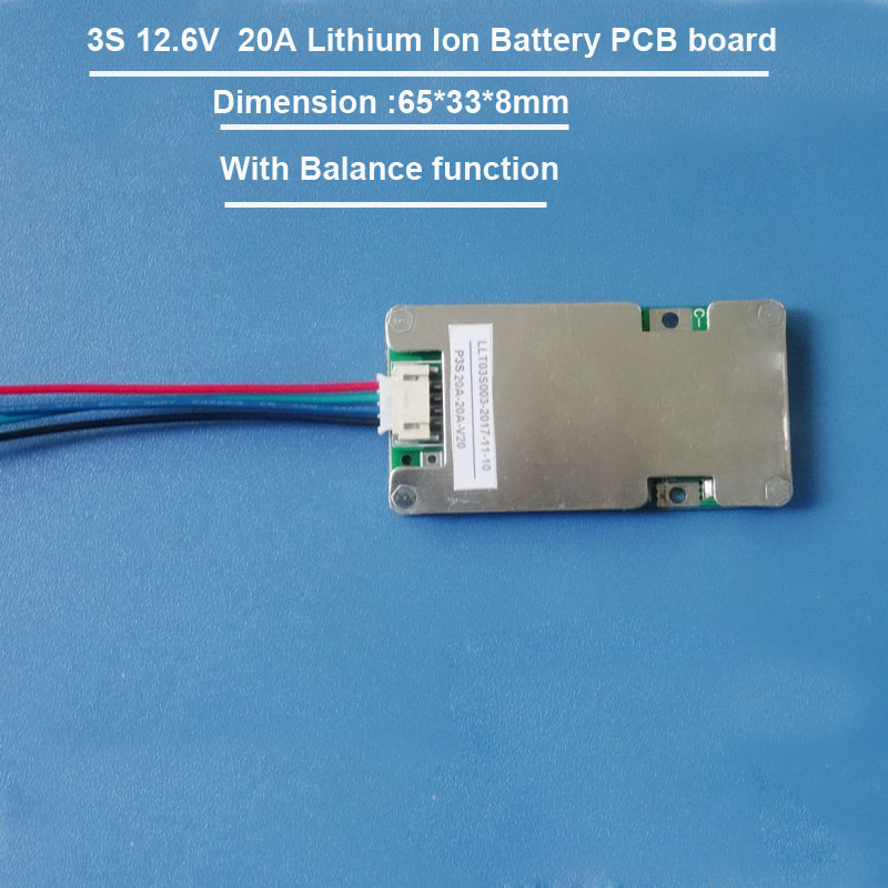 12V Lithium Ion PCB Board for solar light application