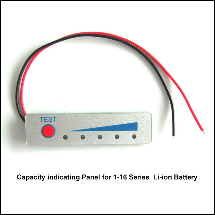 3.7V Lithium power indicator