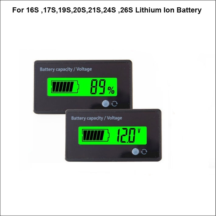 3s Lithium Battery LED Display Capacity Indicator Board For 3 Pcs Battery NEW