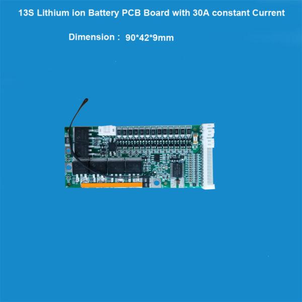 13S li ion Battery BMS