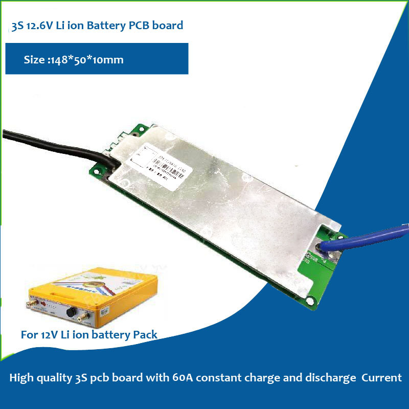 12.6V fishing instrument PCB board with 60A current