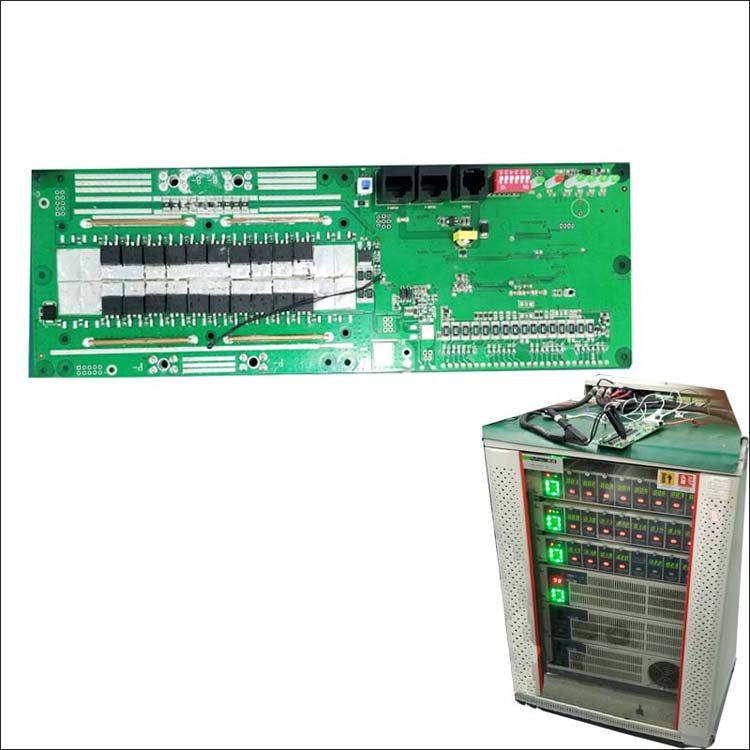 16S Lifepo4 Battery BMS with RS485 communication for 48V